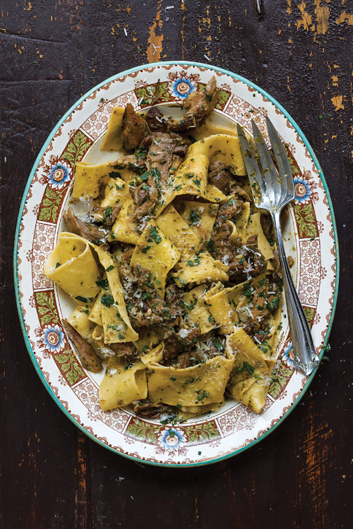 Pappardelle with Duck Sugo   SAVEUR