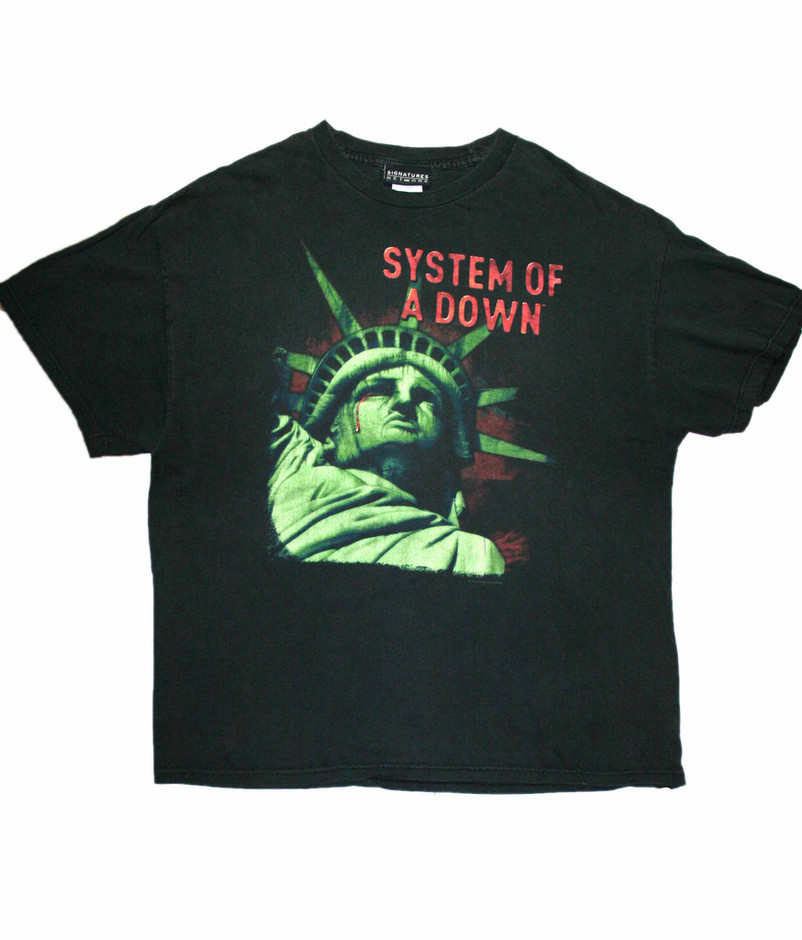 Vintage System of a Down Band Shirt Mens Size XL | Vintage Mens Goods