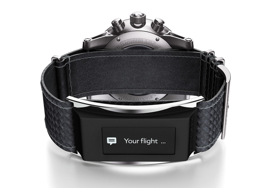 Introducing The Montblanc Timewalker Urban Speed e-Strap: The First Foray Into Digital Wearables From A Traditional Luxury Player Is Upon Us — HODINKEE - Wristwatch News, Reviews, & Original Stories