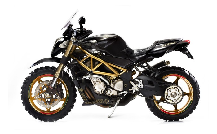 the Bike Shed » Mad Crow MV Augusta 919 Dirtbike