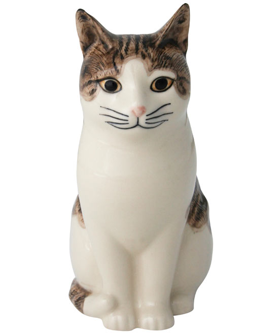 Edith The Cat Money Box, Quail. Shop more from the Quail collection online at Liberty.co.uk