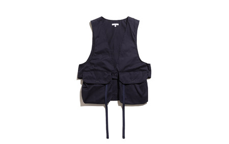 Fowl Vest-High Count Twill-Dk.Navy