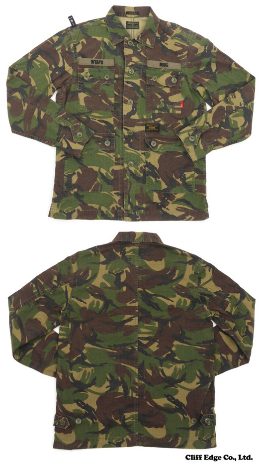 【楽天市場】WTAPS JUNGLE L/S SHIRTS.COTTON.DPM (長袖シャツ) DPM TROPICAL 216-001192-000-【新品】【smtb-TD】【yokohama】:Cliff Edge