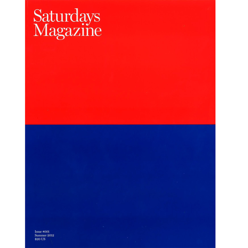 Saturdays Magazine - A First Look • Highsnobiety