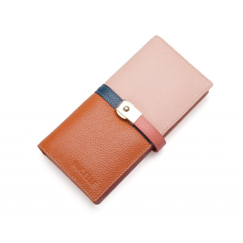 Jane Eyre Series Cow Leather Long Version Purse