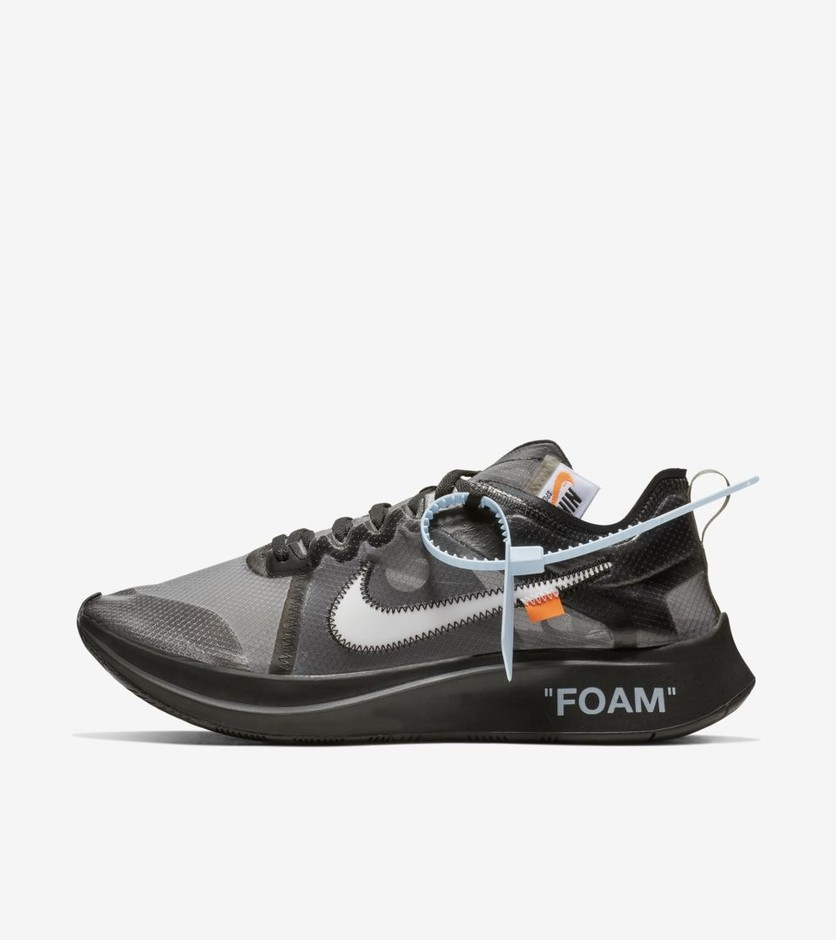 The Ten: Nike Zoom Fly 'Black & Cone & White' Release Date. Nike⁠+ SNKRS