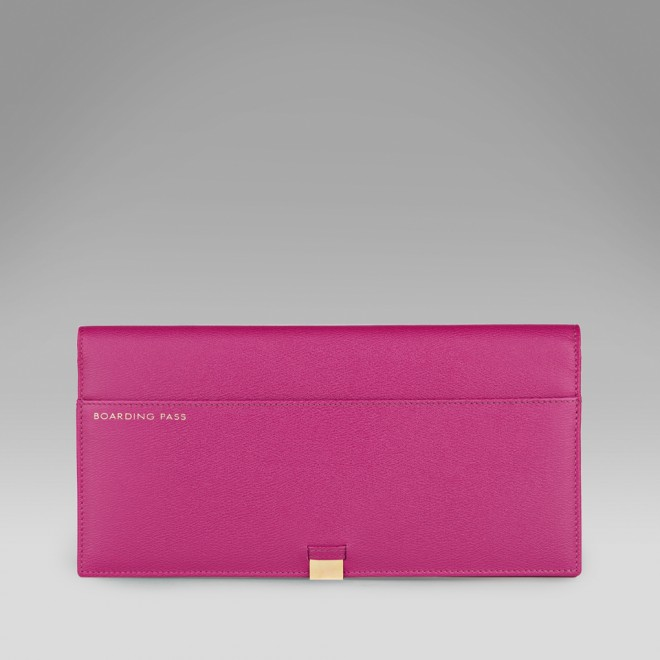 Slim Travel Wallet with Slide - Travel Wallets - Smythson United States