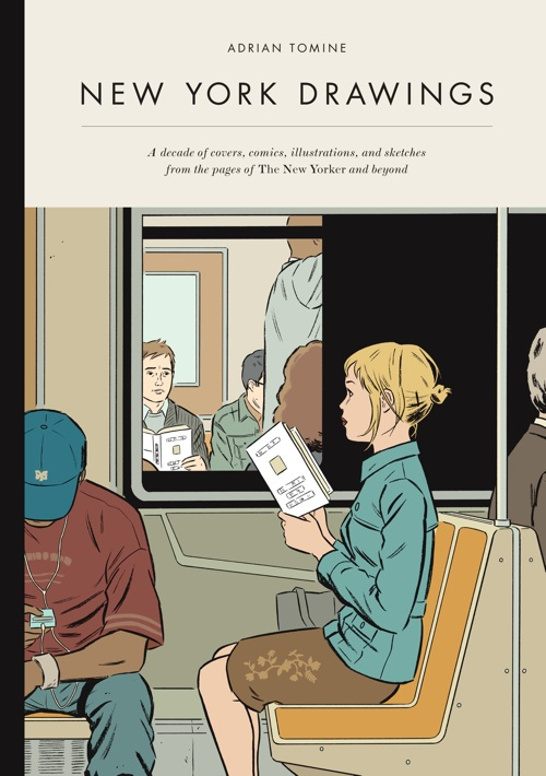EARTH PRIME TIME: INTERVIEW: NEW YORKER COVER ARTIST ADRIAN TOMINE SIGNS 'NEW YORK DRAWINGS' AT HARVARD BOOK STORE   DigBoston