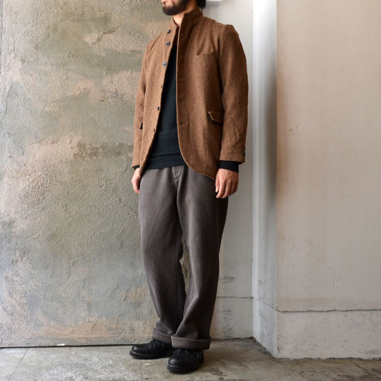 GARMENT REPRODUCTION OF WORKERS / FARMERS JACKET「Re;li」