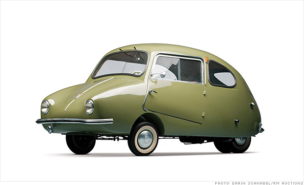 Microcars worth big bucks at museum auction - 1956 Fuldamobil S-6 (17) - CNNMoney