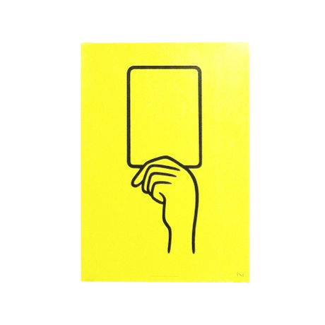 YELLOW CARD(poster) | N store