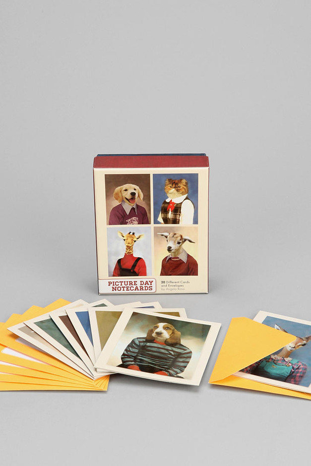 Picture Day Notecard - Set Of 20 - Urban Outfitters