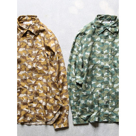 """HYPERION × LOCALS ONLY """"CAMOUFLAGE×2 SHIRTS""""(2colors) 商品詳細 THE SUPERIOR LABOR,A VONTADE,CURLY,NICHE,bukht通販サイト 広島県呉市のセレクトショップ"""