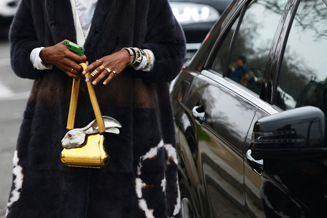 Spotted: #TheAccessory #PFW