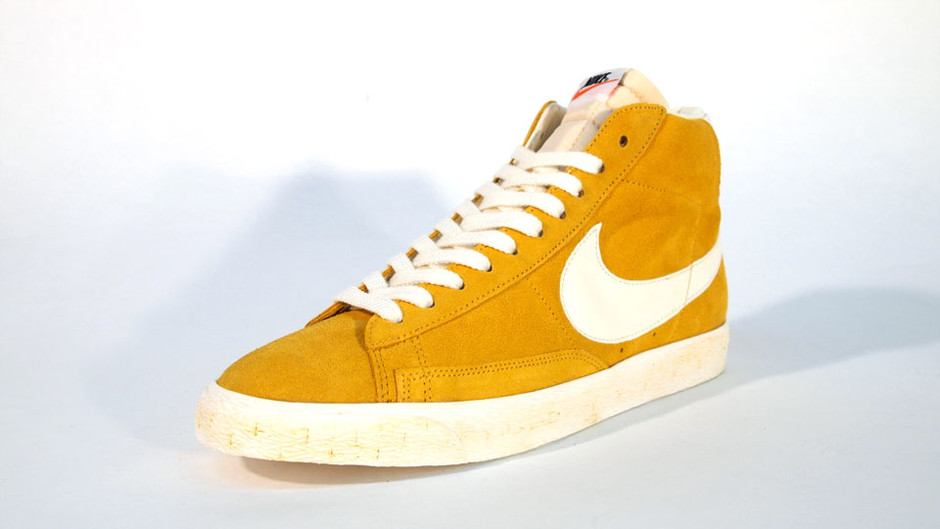 BLAZER HIGH SUEDE VINTAGE QS 「LIMITED EDITION for NON FUTURE」 YEL/WHT ナイキ NIKE | ミタスニーカーズ|ナイキ・ニューバランス スニーカー 通販