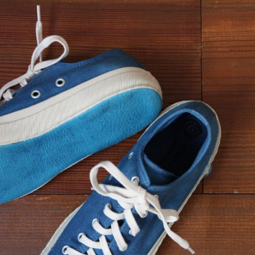 SHOES LIKE POTTERY sneaker INDIGO BLUE ムーンスター  - dieci|online shop
