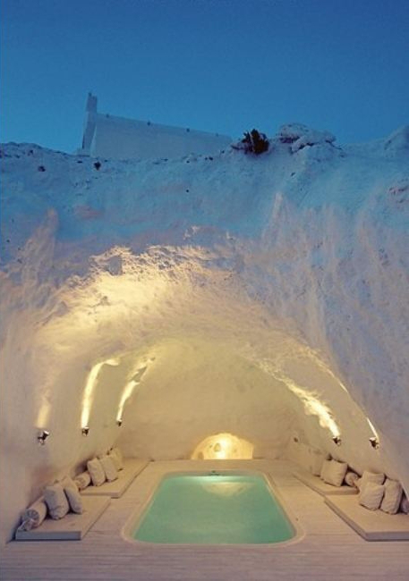 Spa Cave, Santorini, Greece | The Best Travel Photos