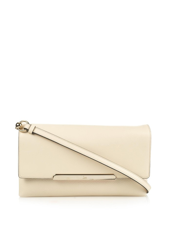 Rougissime leather cross-body bag | Christian Louboutin | MATCHESFASHION.COM