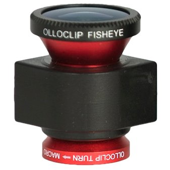 Amazon.co.jp: Premier Systems olloclip 3-in-one Photo Lens for iPhone 5 レッド: 家電・カメラ