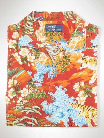 Custom-Fit Tropical Print - Custom-Fit   Sport Shirts - RalphLauren.com