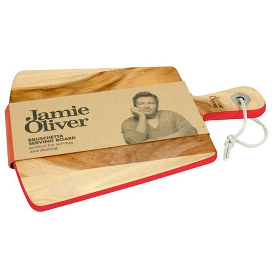 Jamie Oliver bruschetta wooden serving board from House of Fraser | Christmas gifts for food lovers | housetohome.co.uk