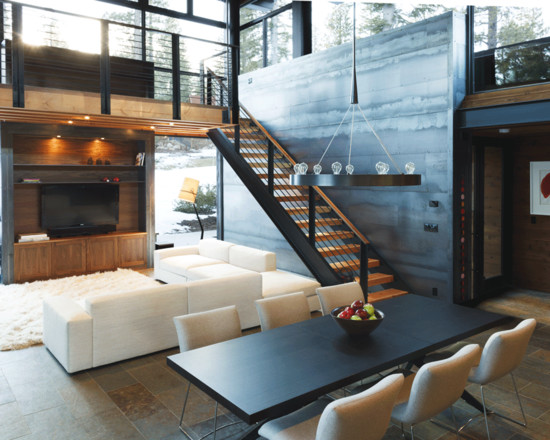 Industrial Interior Design Ideas, Pictures, Remodel and Decor