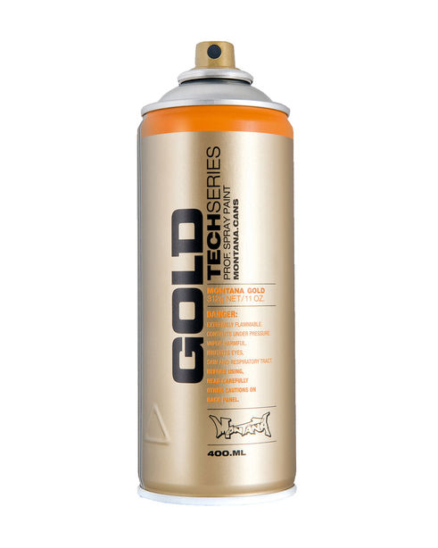 Montana GOLD 400ml TECH Cans/Marker im Graffitishop inflammable.com bestellen