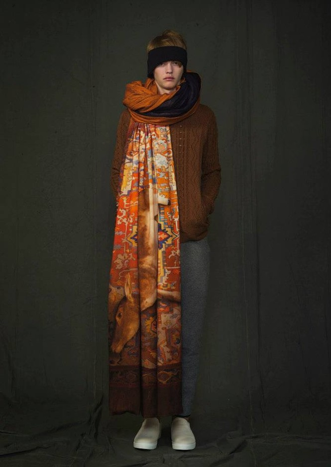 UNDERCOVER 2014-2015 A/W COLLECTION MEN'S LOOK