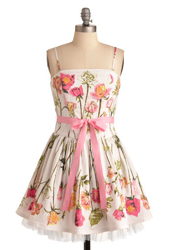Betsey Johnson Antique Rose Dress - clozette.glam.jp