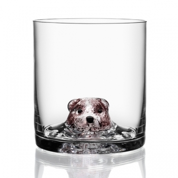 New Friends tumbler Bear - Kosta Boda