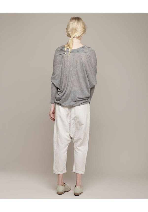 grey / Helmut Lang / Cashmere Tee