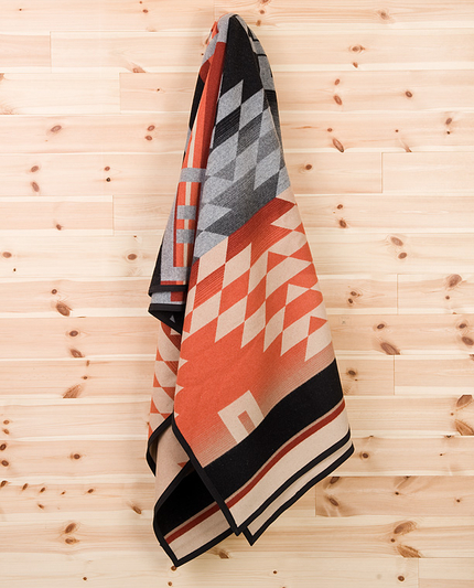 Mr Mudd and Mr Gold - Pendleton Blanket, Zapotec