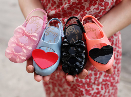"Vivienne Westwood, Melissa Shoes Introduce ""Mini Melissa"" for Babies 