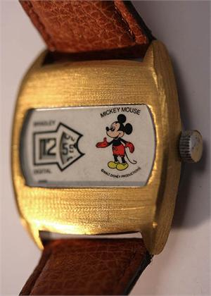 1970s Bradley Mickey Mouse Jump Hour