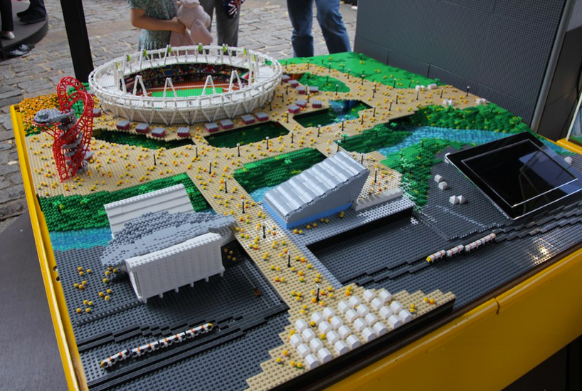 warren elsmore: 2012 olympic stadiums built with LEGO