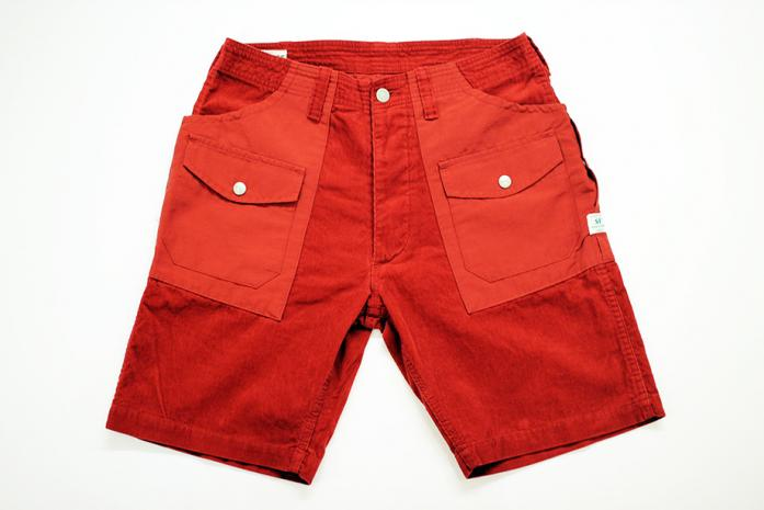 SASSAFRAS BOTANICAL SCOUT PANTS 1/2 (SUMMER CORD/60/40) - BRANCH online store
