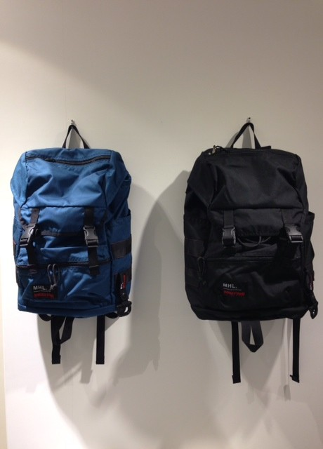 """""""MHL × BRIEFING""""バックパック 再入荷!!!! MHL.   池袋PARCO"""