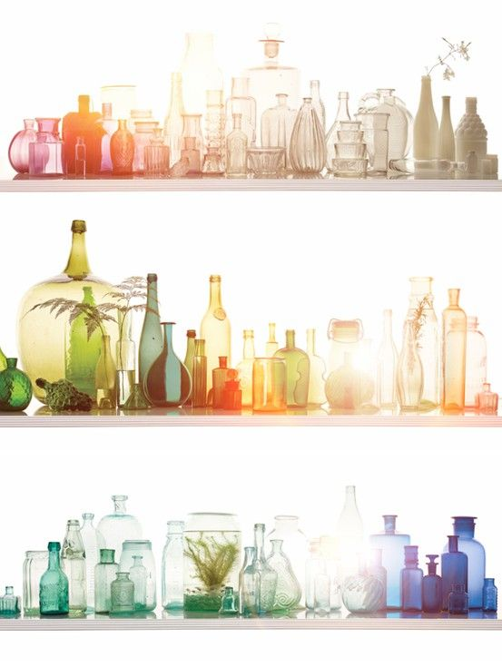 bottle collection | Flea Treasures/ Collections