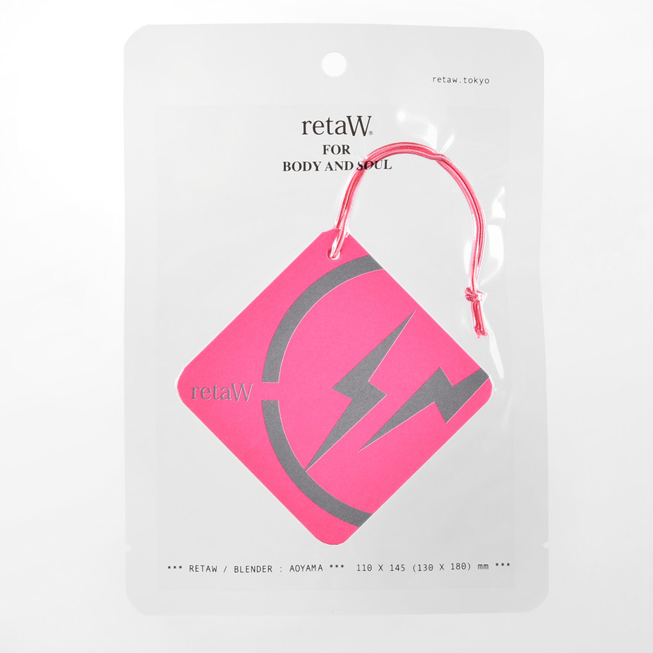 car tag FRAGMENT* pink | retaW