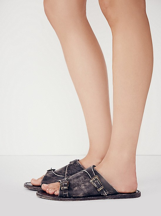 Free People Desperado Slide Sandal at Free People Clothing Boutique