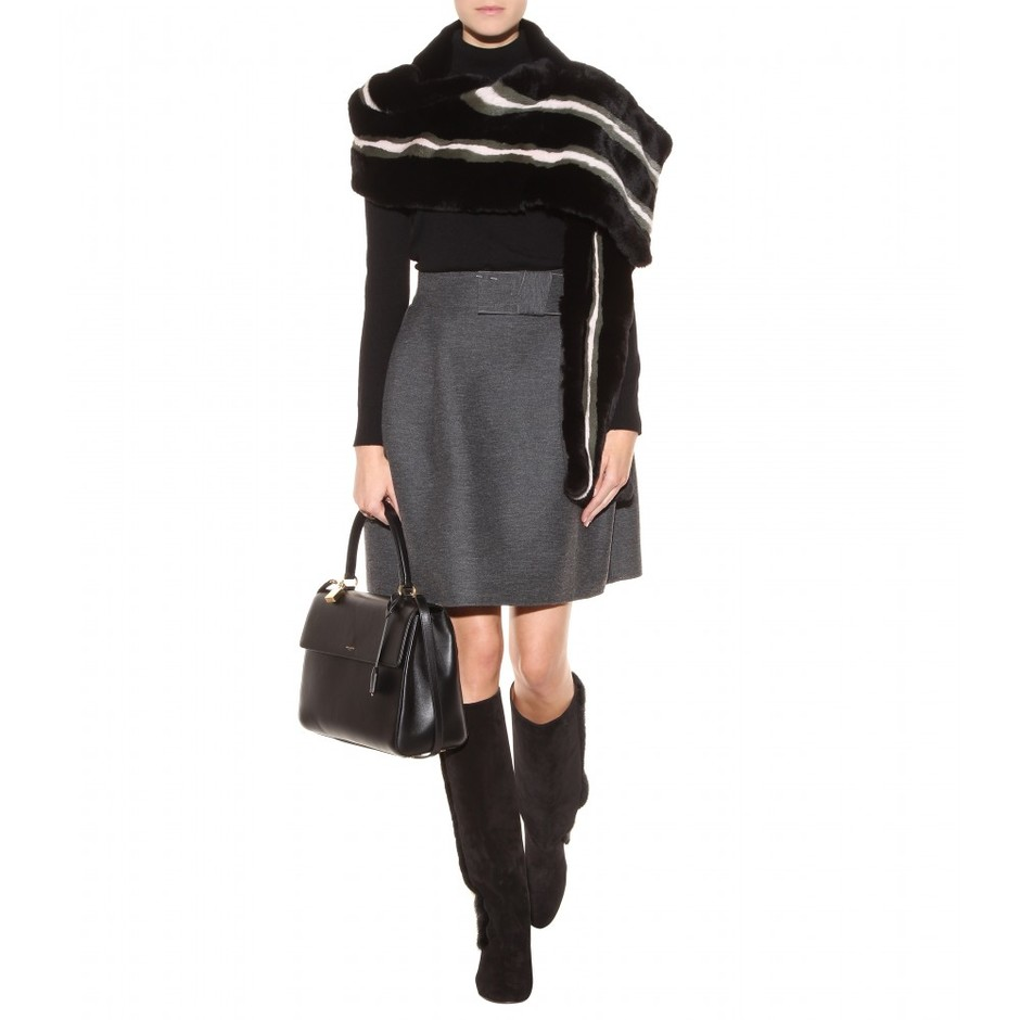 mytheresa.com - Rabbit fur wrap - Scarves - Accessories - Luxury Fashion for Women / Designer clothing, shoes, bags