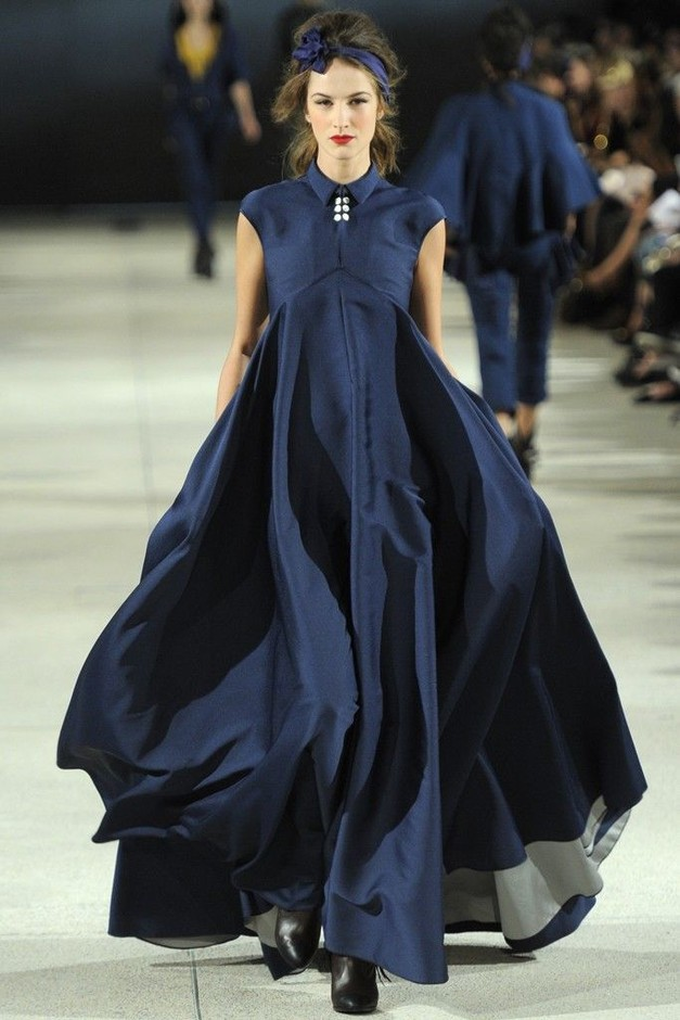Alexis Mabille RTW Spring 2014 | Blue