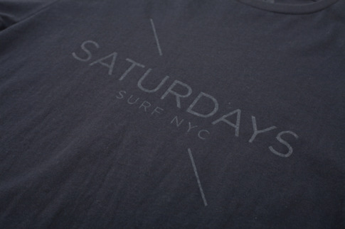 Saturdays Surf NYC | Online Store | Saturdays x Aloha Rag Logo T-Shirt