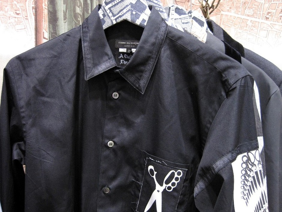 99c0b13a A Child of the Jago x COMME des GARCONS Customized Shirts