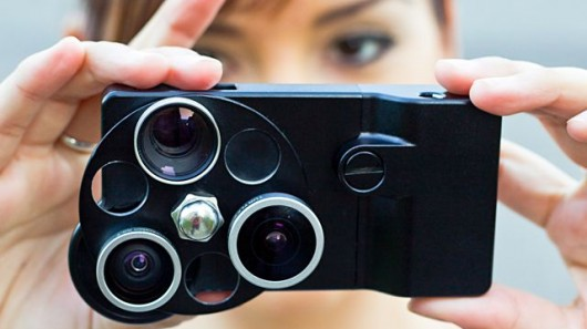 iPhone Lens Dial turns your smartphone into a turret-lensed throwback