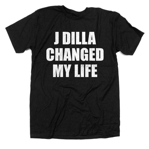 J Dilla Changed My Life T-shirt | Stones Throw Records