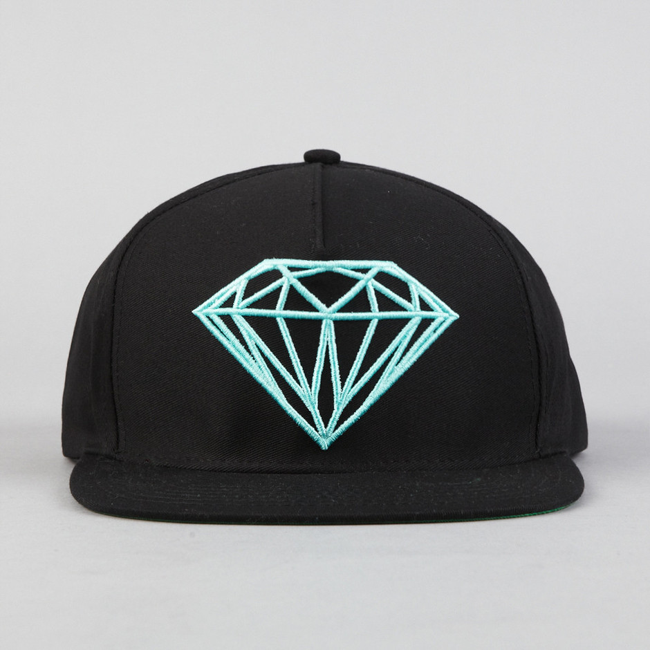 Flatspot - Diamond Brilliant Snapback Black / Diamond