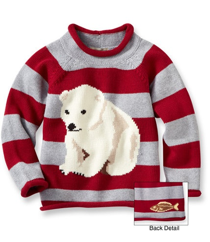 Christmas / Infants' and Toddlers' Double L Rollneck Sweater: Sweaters | Free Shipping at L.L.Bean