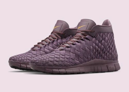 Nike Free Inneva Woven Mid Sp Matte Purple Shade 800907-550 Size 8 | What's it worth