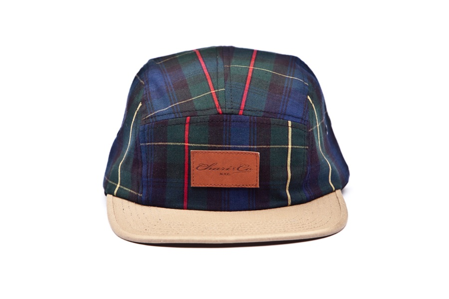 Chari & Co N.Y.C. » Blog Archive » CLEATHER PATCH 5PANEL PLAID CAP